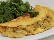 Omelette pommes terre, oignons abondance