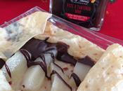 Crêpes poire chocolat