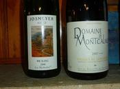 """Coteaux Languedoc Montcalmès blanc) 2007 Alsace Josmeyer Riesling Kottabe"""" 2008"""