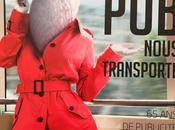 RATP publicité prend métro