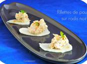 Rillettes poulet curry radis noir