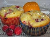 Muffins canneberges oranges