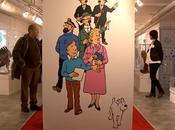 Exposition Tintin Paris