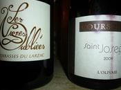 Terrasses Larzac Vignes Oubliées 2013 Saint-Joseph Coursodon Olivaie 2009