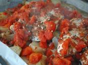 Poitrines poulet l'italienne légumes four