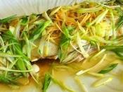 court-bouillon chinois 油浸鲈鱼 lúyú