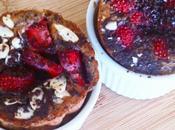 Crêpes cupcakes fraises chocolat noir inspiration Parents Pressés Recettes Futés #Cuisinerenfamille