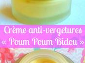 Crème anti-vergetures Poum Bidou