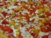 Pizza levain jambon/poivrons