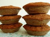 muffins diététiques complets épeautre pomme pruneau coco avec psyllium (sans sucre ajouté, sans beurre riches fibres)