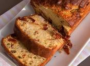 Cake salé italien poulet, tomates séchées, pesto)