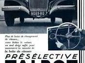 """TALBOT T105 """"Préselective"""" 1934"""