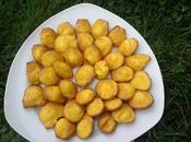 Madeleines l'ananas thermomix Kitchenaid