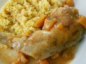 Couscous poulet abricots