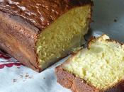 Cake poires citron sans beurre lait concentré