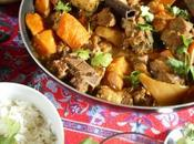 Curry d'agneau courge butternut