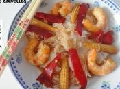 Nouilles chinoises vermicelle) crevettes