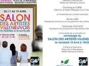 Salon artistes villeneuvois