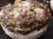 Champignons Paris farcis quinoa créme parmesan