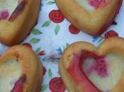 Muffins coeur framboise miel d'acacia...