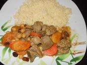 Tajine d'agneau fruits secs