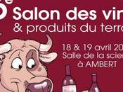 Avril salon Vins d'Ambert