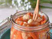 Légumes croquants aigres-doux vinaigre Comme cornichons...!