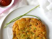 Tortilla pommes terre oignons 100% végétale