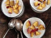 Perles tapioca lait coco nectarines régions