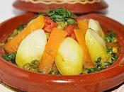 Tajine marocain légumes