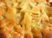 Gâteau Gourmand Pommes épices Sauce Caramel Beurre Salé