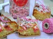 Gâteau pommes pralines roses