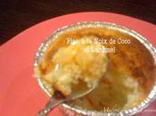 Flan Antillais Noix Coco Caramel