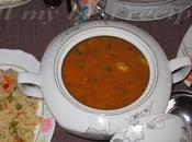 Chorba frik soupe vert concassé