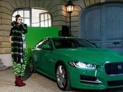 jaguar vedette d'un défilé mode original jean-paul lespagnard