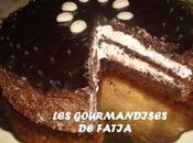 Gâteau Chocolat Crème Fromage Frais