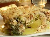 Gratin brocolis, poulet moutarde [miel cidre]
