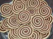 Sablé spirale chocolat/vanille