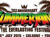 Summerjam Festival palmier