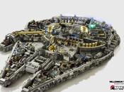 Faucon Millénium plus pièces LEGO créé passionnés