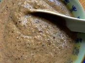 Velouté shiitakés cardamome noire