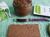 pâte tartiner allégée chocolat avec quinoa graines (diététique, végane, sans lait gluten riche fibres)
