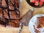 Brownie chocolat noisettes sans farine