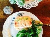 Terrine saumon, crevettes, avocat pamplemousse sans cuisson
