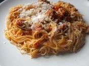 Spaghettis saucisse italienne