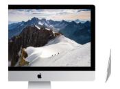 Apple nouvel iMac nouveaux MacBook pouces Retina