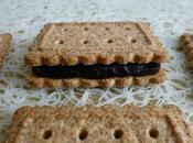 biscuits diététiques bambou fourrés cacao noir (black onyx cocoa) seulement kcal (très riches fibres)