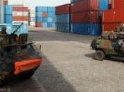 L'ONU-CI débarque pickups Port d'Abidjan, d'autres véhicules matériels guerre attendus