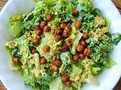 """p'tit coucou avec prime, """"THE"""" salade césar végétalienne"""