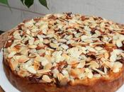 Gâteau riches Pommes Vanille, Rhum, pépites chocolat amandes effilées